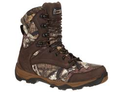 """Rocky Retraction 8"""" Waterproof 800 Gram Insulated Hunting Boots Leather/Nylon Men's"""