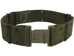 Military Surplus ALICE Pistol Belt Grade 1 Medium Nylon Olive Drab