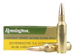 Remington Express Ammunition 300 Remington Short Action Ultra Magnum 165 Grain Core-Lokt Pointed ...