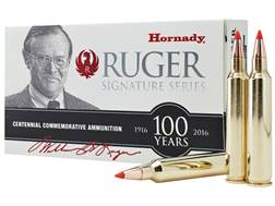 Hornady William B. Ruger Commemorative Ammunition 204 Ruger 32 Grain V-Max Box of 20