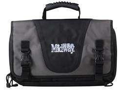 "MidwayUSA Pro Series Tactical Pistol Case 15"" Gray and Black"
