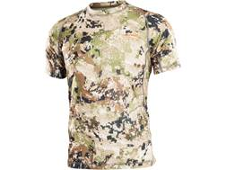 Sitka Gear Men's Core Lightweight Crew Shirt Short Sleeve Polyester Optifade Subalpine Camo Medium