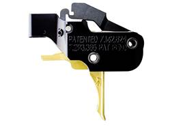 """American Trigger Corp. AR Gold Trigger Group AR-15 Small Pin .154"""" Adjustable Two Stage Flat Shoe"""