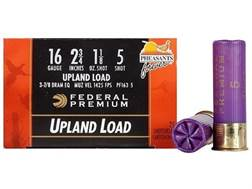 "Federal Premium Wing-Shok Ammunition 16 Gauge 2-3/4"" 1-1/8 oz Buffered #5 Copper Plated Shot Box ..."
