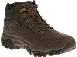 "Merrell Moab Rover Mid 5"" Waterproof Hiking Boots Leather Men's"