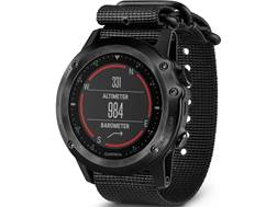 Garmin Tactix Bravo GPS Watch with Nylon Band Black