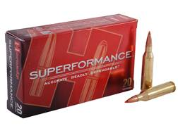 Hornady Superformance SST Ammunition 260 Remington 129 Grain SST Box of 20