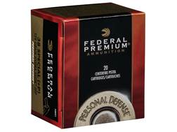 Federal Premium Personal Defense Micro Ammunition 38 Special 129 Grain HST Jacketed Hollow Point ...