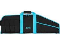 "MidwayUSA Heavy Duty Tactical Rifle Case 36"" Black and Teal"