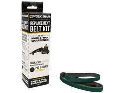 Work Sharp Coarse P80 Grit Belt Accessory Kit