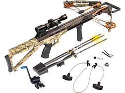 Carbon Express Covert Bloodshed Crossbow Package with 4x32 Illuminated Scope Kryptek Highlander Camo