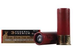"Federal Premium Vital-Shok Low Recoil Ammunition 12 Gauge 2-3/4"" 1 oz TruBall Hollow Point Rifled..."