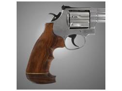 Hogue Fancy Hardwood Grips with Accent Stripe and Top Finger Groove Dan Wesson Small Frame Oversize