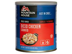 Mountain House 14 Serving Diced Chicken Freeze Dried Food #10 Can