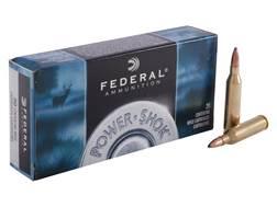 Federal Power-Shok Ammunition 243 Winchester 80 Grain Speer Hot-Cor Soft Point Box of 20