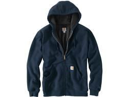 Carhartt Men's Rain Defender Rutland Thermal-Lined Zip-Front Hooded Sweatshirt Cotton/Polyester