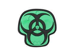 "Maxpedition Biohazard Skull PVC Patch 2"" x 2"""