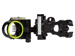 "Black Gold Pure Adrenalin 5-Pin Slider Bow Sight .019"" Pin Diameter Right Hand Aluminum Black"