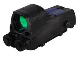 Meprolight MOR Tri-Powered Reflex Sight 1x 30mm 4.3 MOA Dot with 5mW Red Laser Aiming Device and ...
