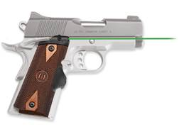 Crimson Trace Master Series Green Lasergrips 1911 Officer, Defender, Compact Cocobolo Diamond Pat...