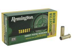 Remington Target Ammunition 38 Special 148 Grain Lead Target Master Wadcutter Box of 50