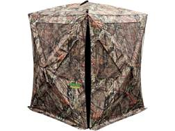 "Primos The Club XL Ground Blind 58"" x 58"" x 73"" Dura Matte Fabric Mossy Oak Break Up Country Camo"
