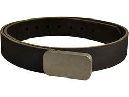 "Lenwood Leather Blunt Force Trauma Conveyor Belt 1.5"" Stainless Steel Buckle PVC Coated Polyester"