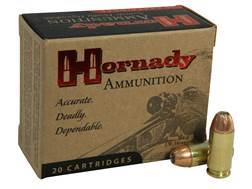 Hornady Custom Ammunition 40 S&W 155 Grain XTP Jacketed Hollow Point Box of 20