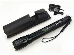 ZAP Enforcer 2,000,000 Volt Stun Gun with LED Flashlight Rechargeable Ni-MH Battery Aluminum Black