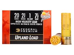 "Federal Premium Wing-Shok Pheasants Forever Ammunition 20 Gauge 2-3/4"" 1 oz Buffered #7-1/2 Coppe..."