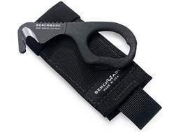Military Surplus Safety Cutter 440C Stainless Steel Black Cloth Sheath Black