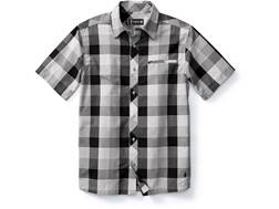 Smartwool Men's Everyday Exploration Retro Plaid Button-Up Shirt Short Sleeve Merino Wool/Cotton