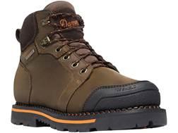 "Danner Trakwelt 6"" Waterproof Non-Metallic Safety Toe Work Boots Leather Brown Men's"