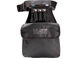 MidwayUSA Shell Pouch/Shell Box Holder with Belt Black