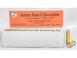 Jamison Ammunition 45-60 WCF 300 Grain Round Nose Flat Point Box of 20