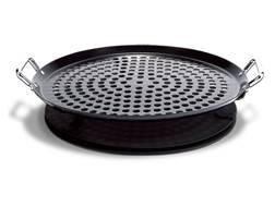"Eastman Outdoors 12"" BBQ Pizza Pan Steel"