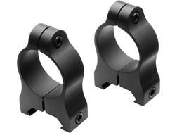 "Nikon A-Series 1"" Weaver-Style Rings Matte Low Aluminum"