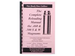 "Loadbooks USA ""460/500 S&W"" Reloading Manual"