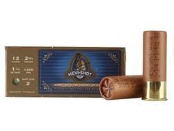 "Hevi-Shot Duck Waterfowl Ammunition 12 Gauge 2-3/4"" 1-1/4 oz #2 Non-Toxic Shot"