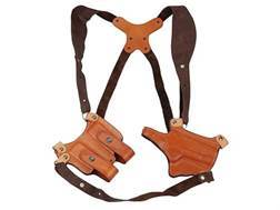 Ross Leather Shoulder Holster System Right Hand 1911 Leather Tan- Blemished