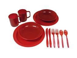 Coleman 2-Person Polymer Dinnerware Set