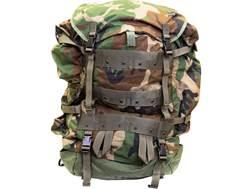 Military Surplus CFP-90 Main Pack Woodland Camo