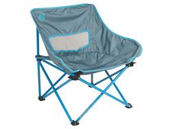 Coleman Kickback Breeze Camp Chair Polyester and Steel Gray and Blue