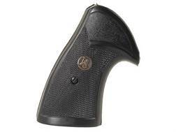 Pachmayr Presentation Grips S&W K, L-Frame Square Butt Rubber Black