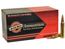 Black Hills Ammunition 5.56x45mm NATO 70 Grain Hornady GMX Hollow Point Boat Tail Lead-Free Box o...