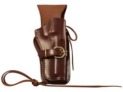Triple K 114 Cheyenne Western Holster Left Hand Ruger Single Six, Colt New Frontier, Heritage Rou...