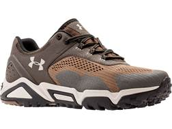 "Under Armour UA Glenrock Low 4"" Hiking Shoes Leather and Nylon Owl Men's"
