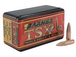 Barnes Triple-Shock X Bullets 270 Caliber (277 Diameter) 130 Grain Hollow Point Boat Tail Lead-Fr...