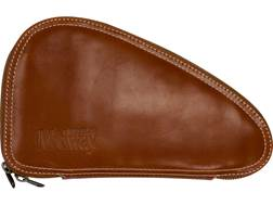 MidwayUSA Premium Horween Leather Pistol Case Medium Cognac