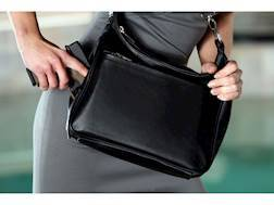 DeSantis Women's Gunnybag Concealed Carry Purse Leather Black